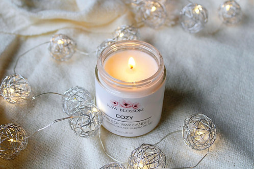 Soy Wax Candle   Cozy
