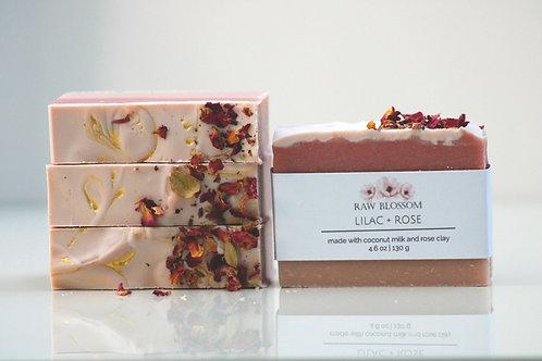 Lilac + Rose Artisan Soap