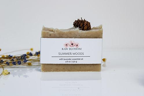 Summer Woods Artisan Soap