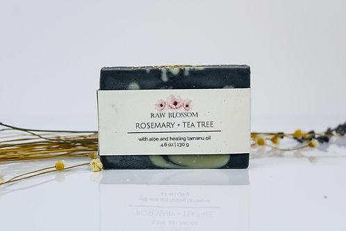 Rosemary + Tea Tree Artisan Soap