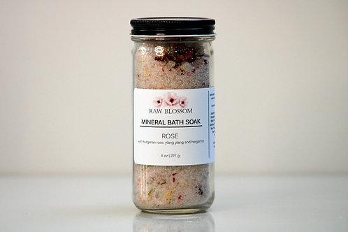 Rose Aromatherapy Mineral Salt Soak