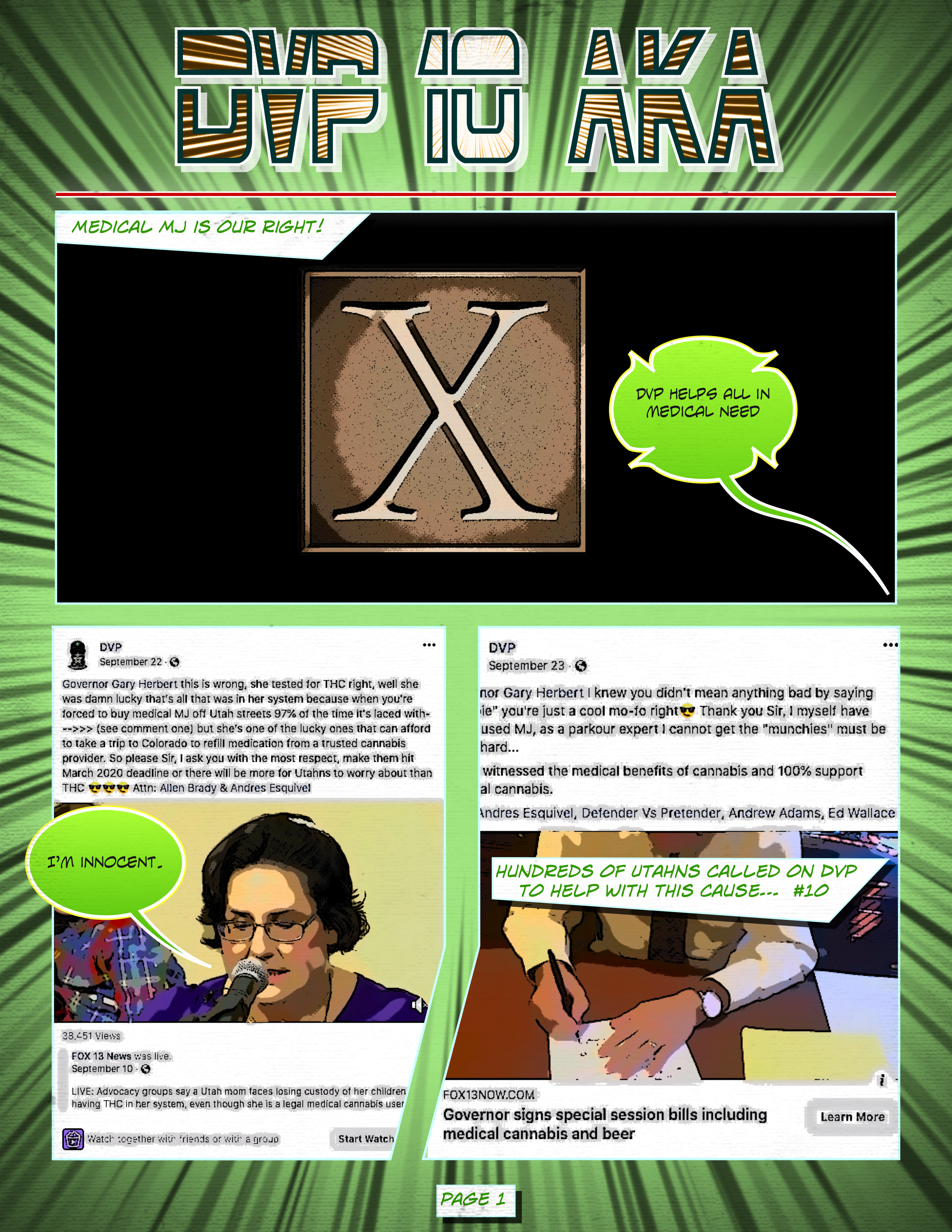 DVP 10 AKA X, Page 01