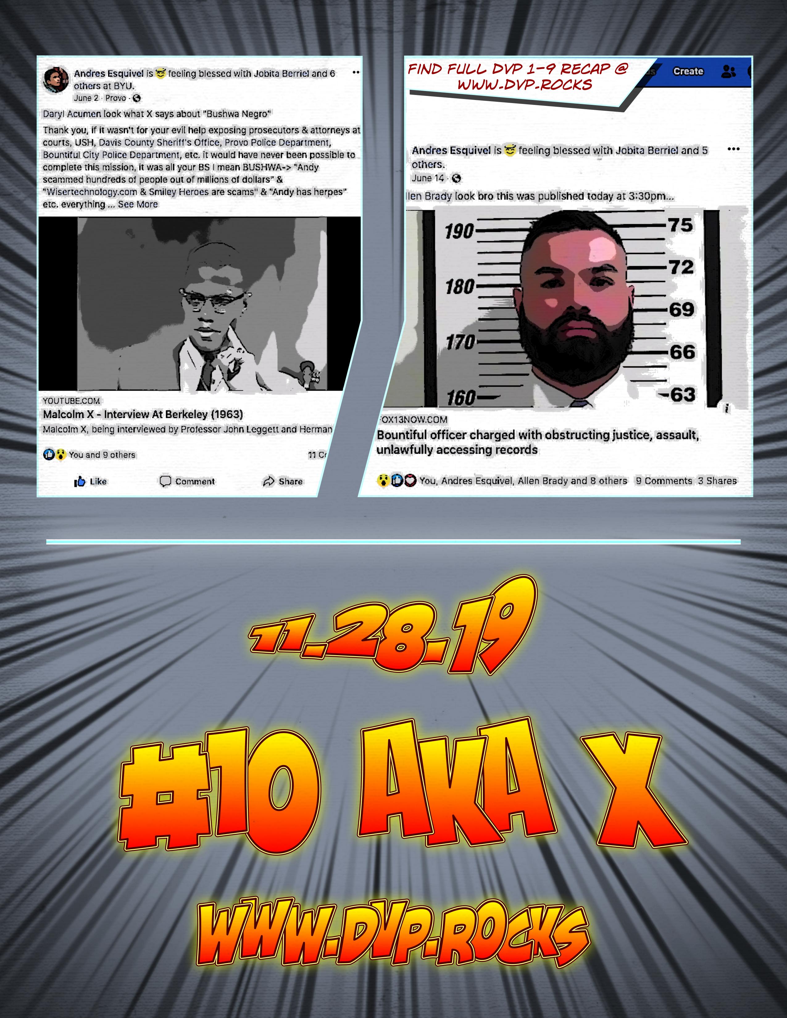 DVP COMIC #1-9 RECAP