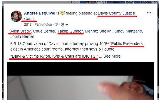 Utah Attorney Pretender