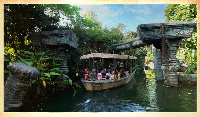 THE JUNGLE CRUISE (Disneyland)