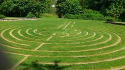 Labyrinth in the Quiet Garden