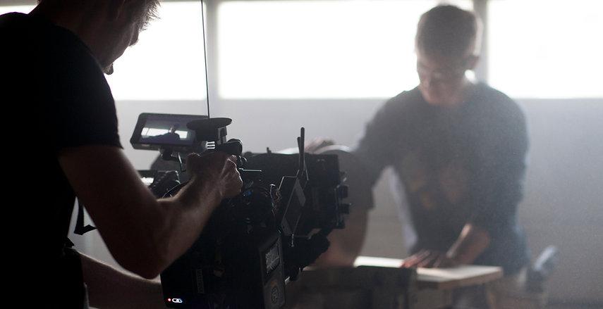 Director of Photography John Matysiak filming for BloFish Clothing with Chronicle Cinema with the Arri Alexa Mini and Cooke anamorphic lenses.