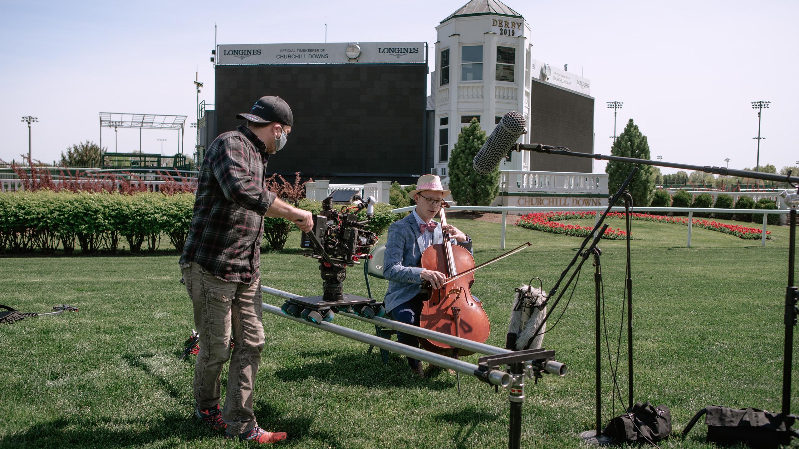 Filming Ben Sollee