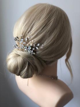 Low Bun Wedding Hair