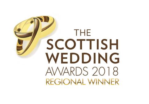 Scottish Wedding Awards Winner 2018