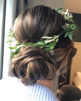 Boho Hair Glencoe Elopement