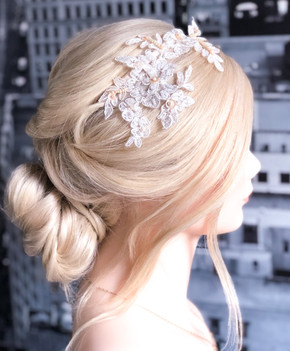 Modern Bride Boho Hairstyle