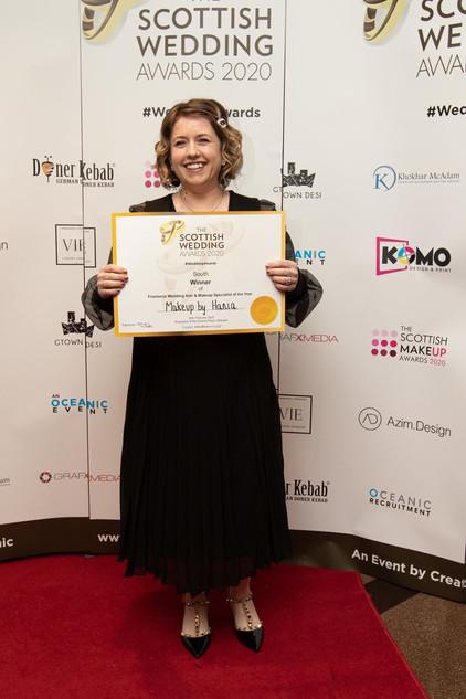 Scottish Wedding Awards Regional Winner