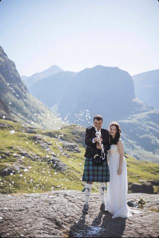 Glencoe elopement