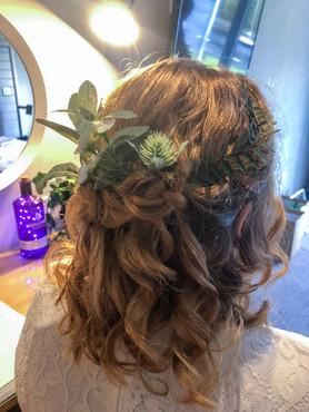 Glencoe Wedding Hair