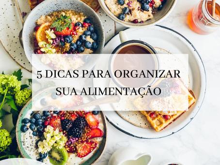 5 dicas importantes para  organização