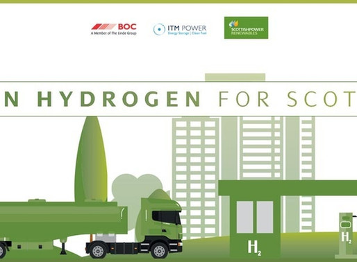 Scottish renewables partnership to fuel green hydrogen-powered vehicle fleets