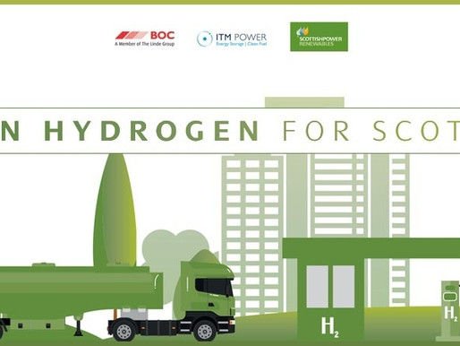 Scottish renewables partnership to fuel green hydrogen-powered vehicle fleets