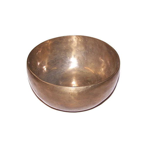 Handmade Large Brass Singing Bowl 17cm