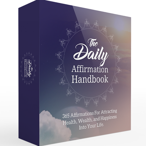 The Daily Cure 365 Affirmation Handbook