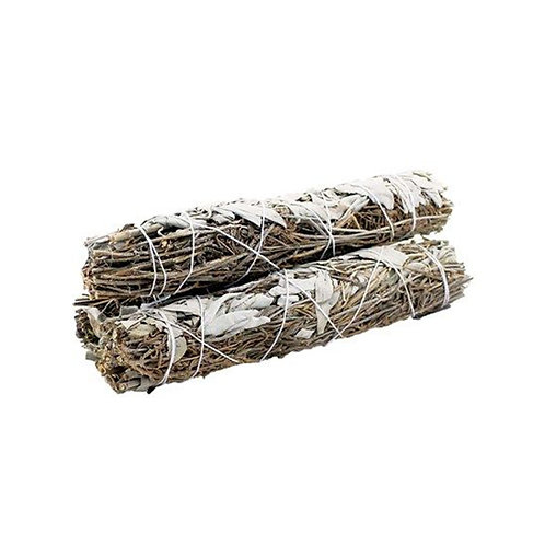 Smudge Stick - White Sage & Lavender - Cleanse Energy - Positive Vibes