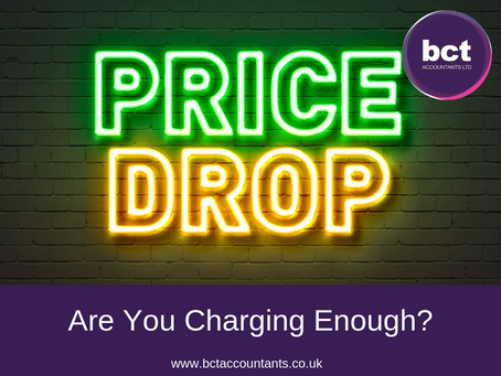 Are You Charging Enough?