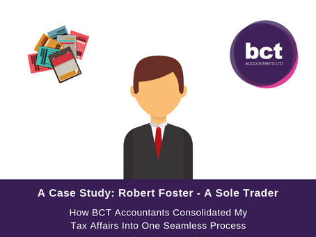 A Case Study: Robert Foster - A Sole Trader