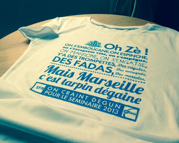 Marseille SFR - Tee-shirt - Séminaire