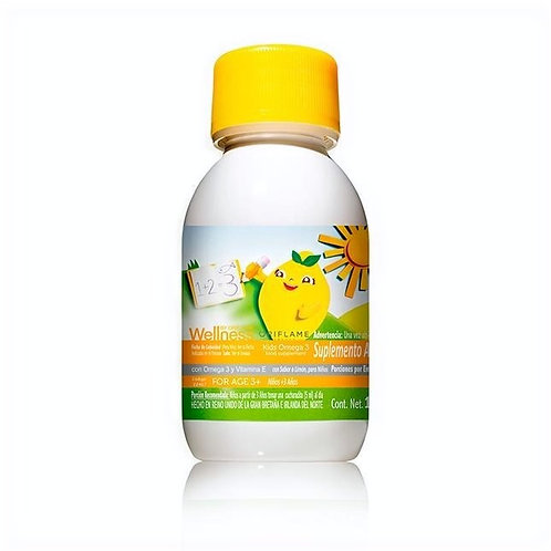 Suplemento Alimenticio con Omega 3 y Vitamina E con sabor