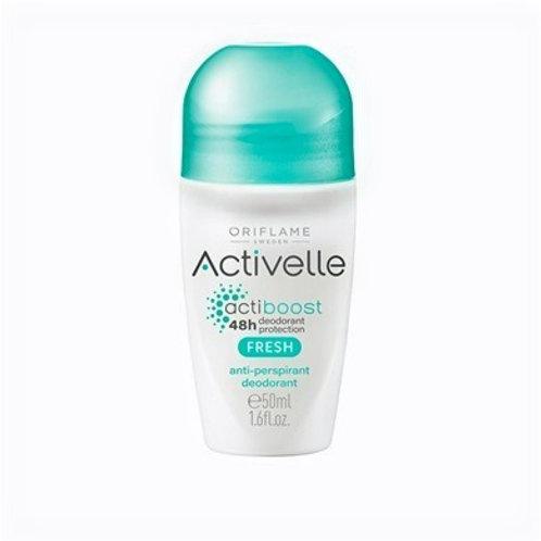 Desodorante Antitranspirante en Roll-On antimanchas Activelle