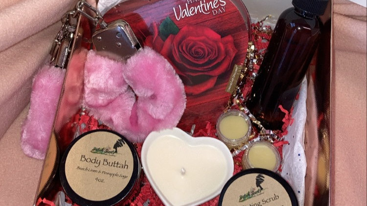 V-Day Love Gift Box (Gold)