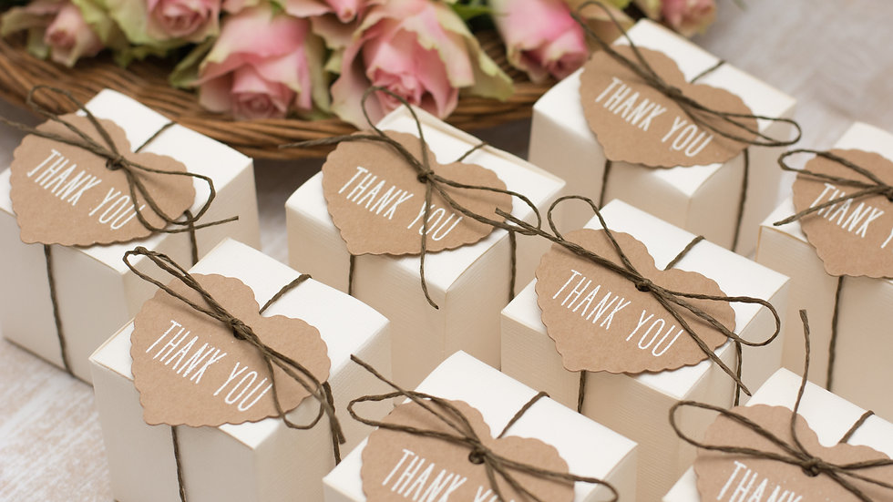 Wedding Favors Set (Quantity of 50)