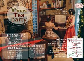 2017.12.10(日)X'mas Tea Party