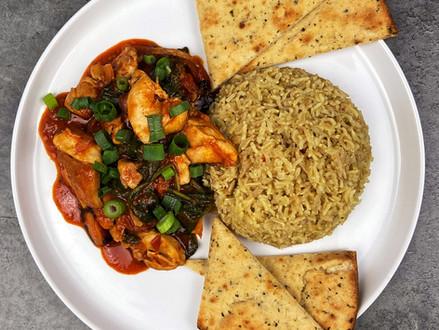 Tandoori Chicken Curry