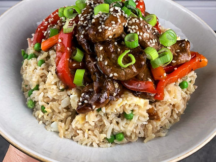 Teriyaki Beef with Special Fried Rice
