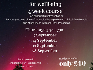 Mindfulness Course in North Tyneside