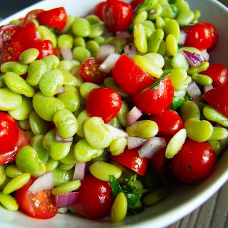 Summer Tomato & Bean Salad