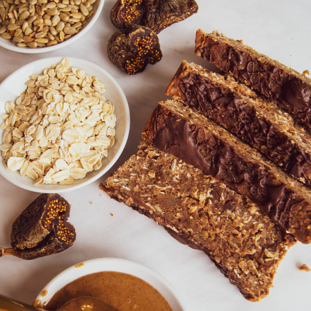 Vegan Almond Fruit & Nut Bars