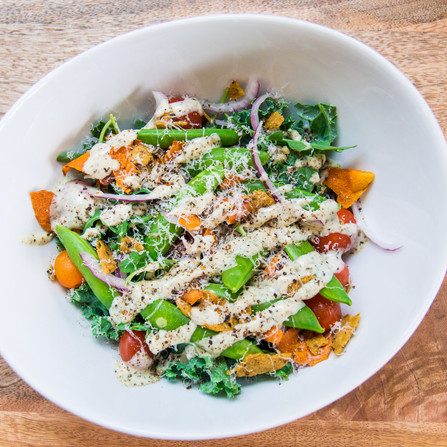 Scrounge Veggie Salad