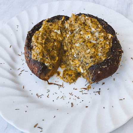 Stuffed Portobello Mushroom