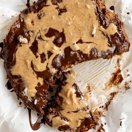 Flourless Pumpkin Coffee Cake