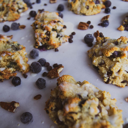 GF Blueberry, Pecan, Chocolate Chip Scones