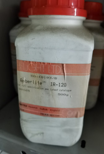 Amberlite (R) IR-120, strongly acid