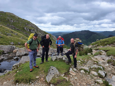 Wild Camp in the Langdale's (12/07/2020)
