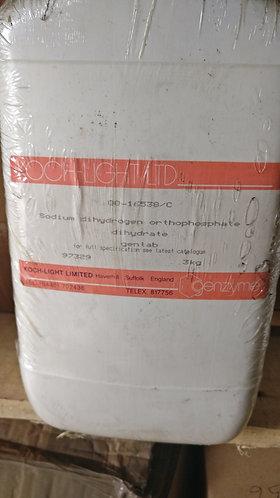 Sodium dihydrogen orthophosphate dihydrate, >98% 3kg