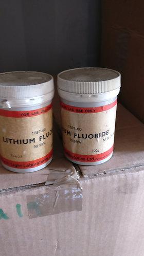 Lithium Fluoride 99% 100g