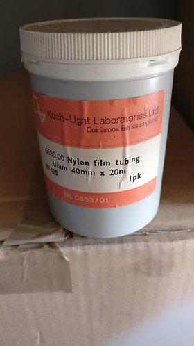 Nylon film tubing 40mmx20m