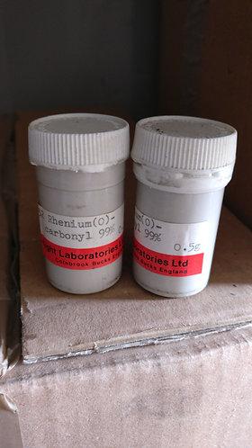 Rhenium (O)-carbonyl,  99% 0.5g