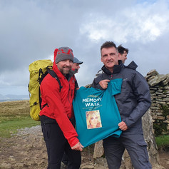 Chairty event on Yorkshire Three Peaks for Ambers Law
