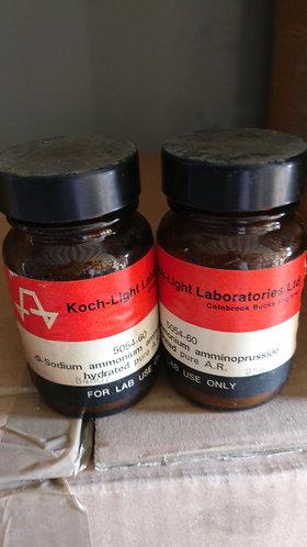 Di-sodium ammonium amminoprusside hydrated a.r 25g